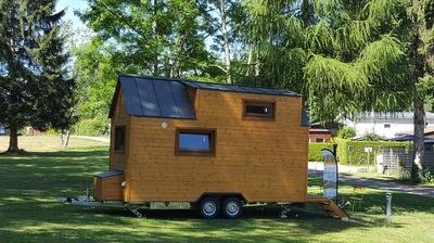 Implantation de tiny houses pour les familles en précarité d'accès au logement