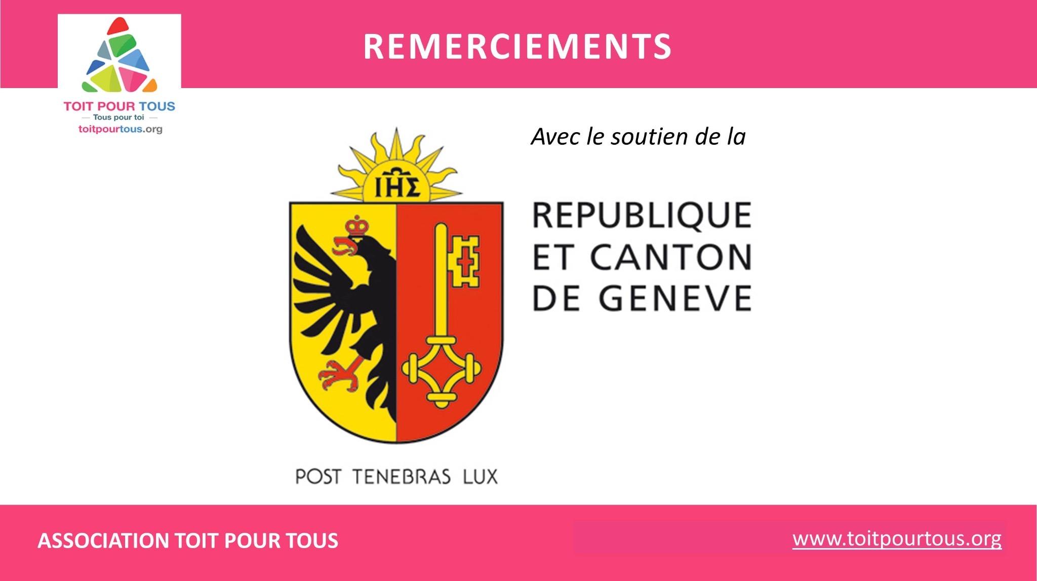 REPUBLIQUE ET CANTON DE GENEVE