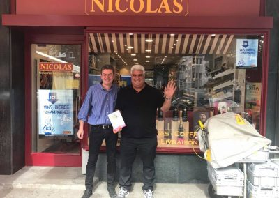 Nous remercions vivement le magasin NICOLAS VIDOLLET