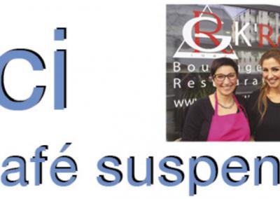 Le RG K'Rouge est notre nouvel établissement partenaire à Carouge, qui soutient l'action de l'ONG TOIT POUR TOUS à travers le lancement du café suspendu